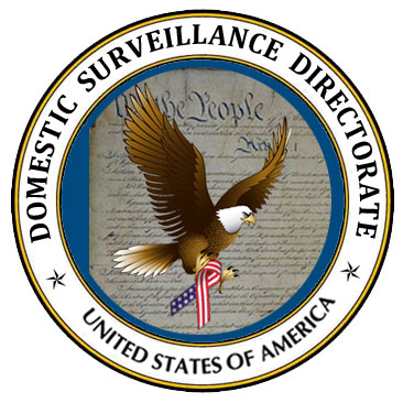Domestic spying logo