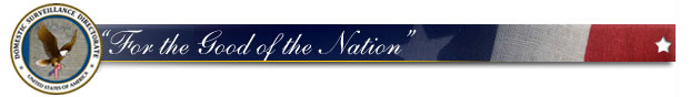 NSA motto - for the good of the nation