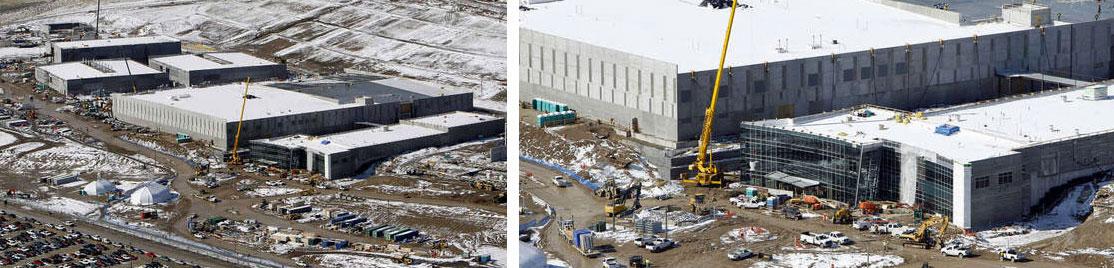 NSA Utah Data Center construction photos