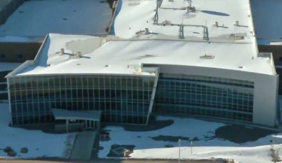 Utah Data Center Administration building