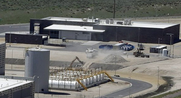 NSA Utah Data Center - warehouse
