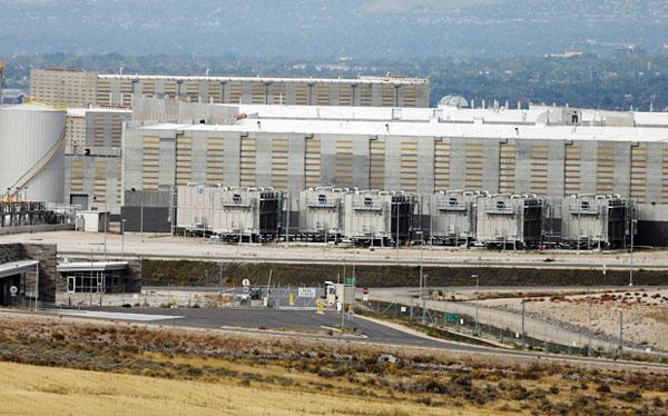 recent photo of NSA Utah Data Center