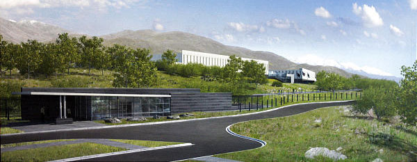 NSA Utah Data Center visitor control center